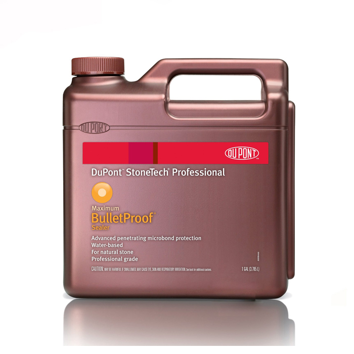 Dupont stonetech professional bulletproof sealer 1 gallon for Dupont heavy duty exterior sealer