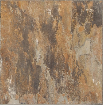 "Indian Autumn Cleft Slate Tile 16""x16"""