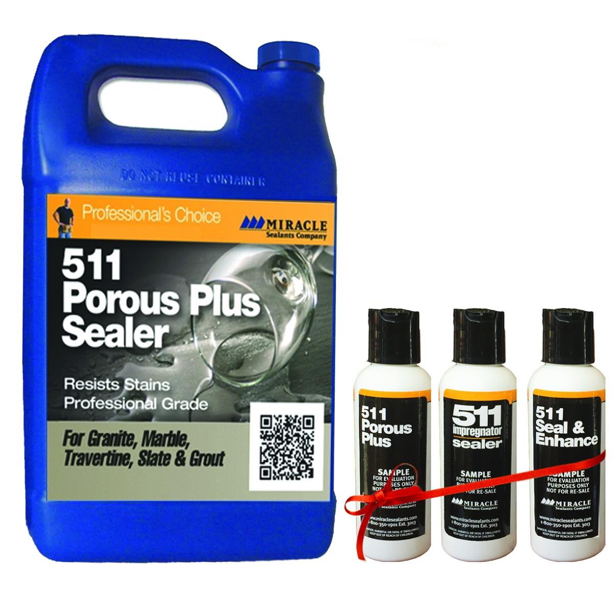 Miracle Sealants 511 Porous Plus Penetrating Sealer 128 Oz