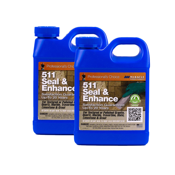 Miracle Sealants 511 Seal & Enhance 64 oz. Penetrating Sealer 511- 2 Quarts