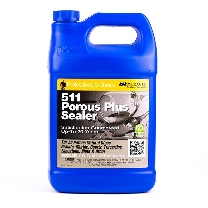 Miracle Sealants 511 Porous Plus Penetrating Sealer 128 oz. - Gallon
