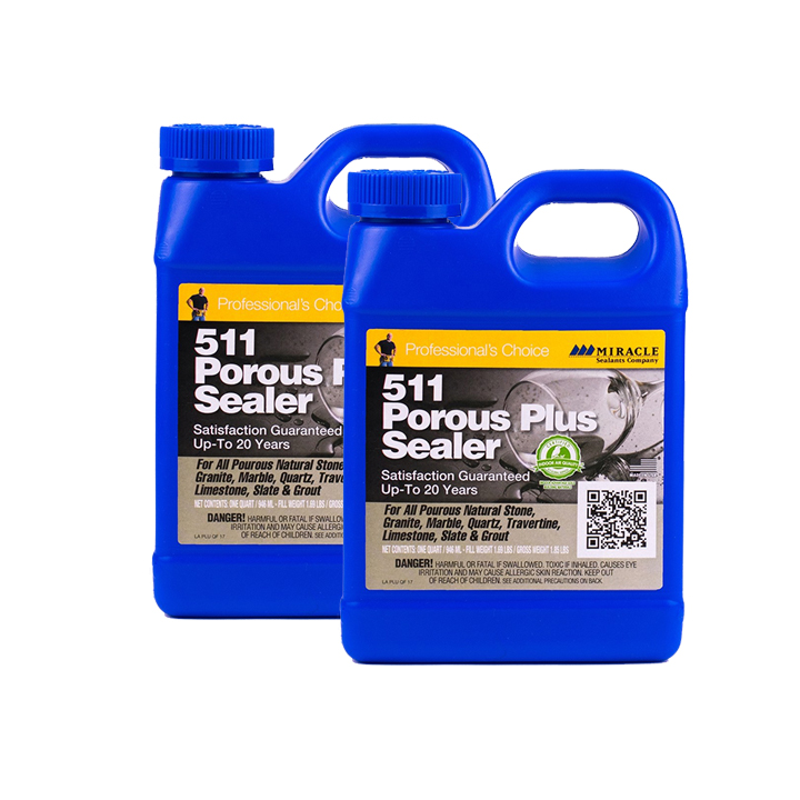 Miracle Sealants 511 Porous Plus 64 oz. Penetrating Sealer 511 - 2 Quarts