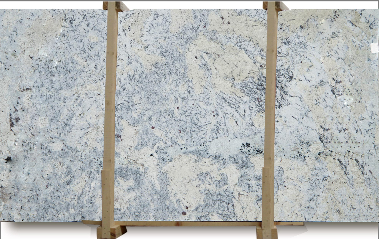 Aspen White Granite Slab #2