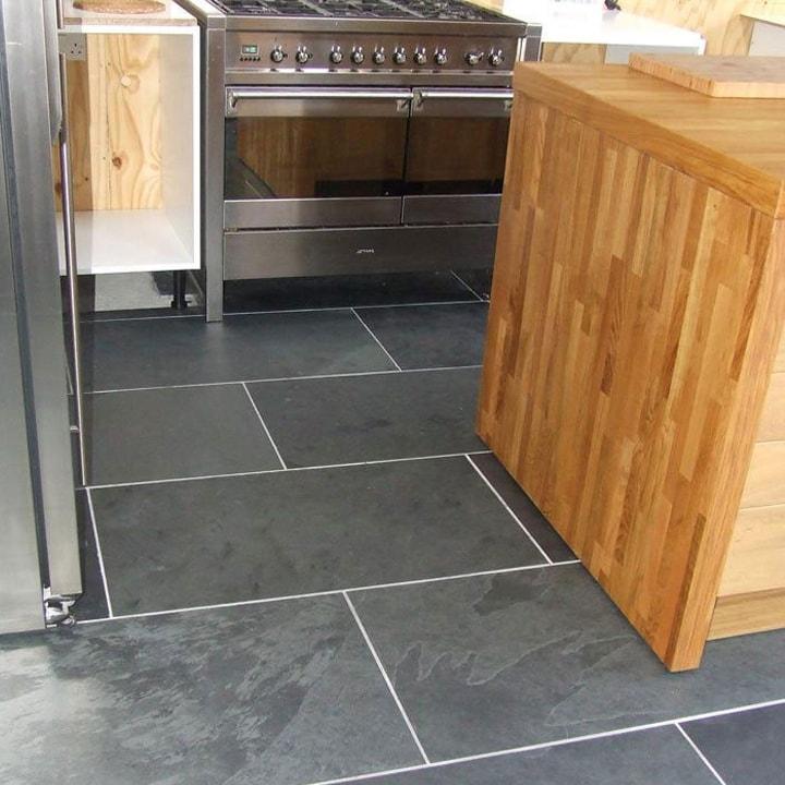 Brazilian Black Montauk Black Cleft Slate Tile 12 Quot X24 Quot