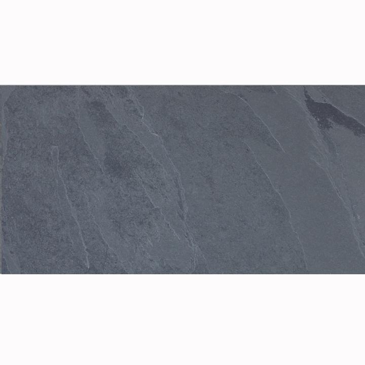 Brazilian Montauk Black Slate Tile 12