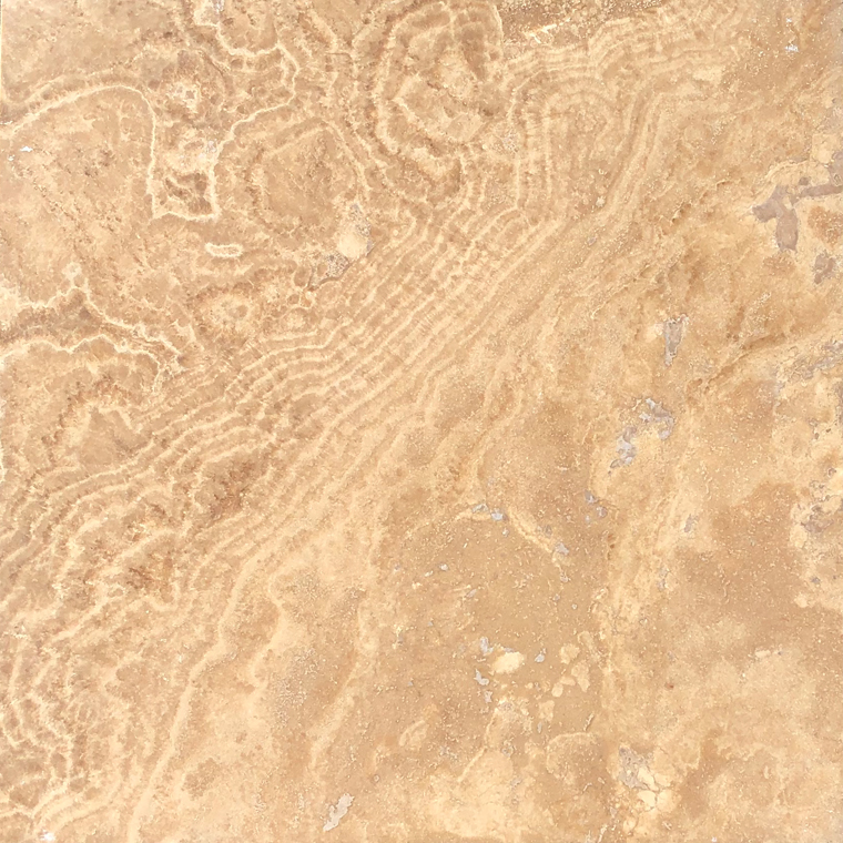 English Walnut Honed Travertine Tile 12x12