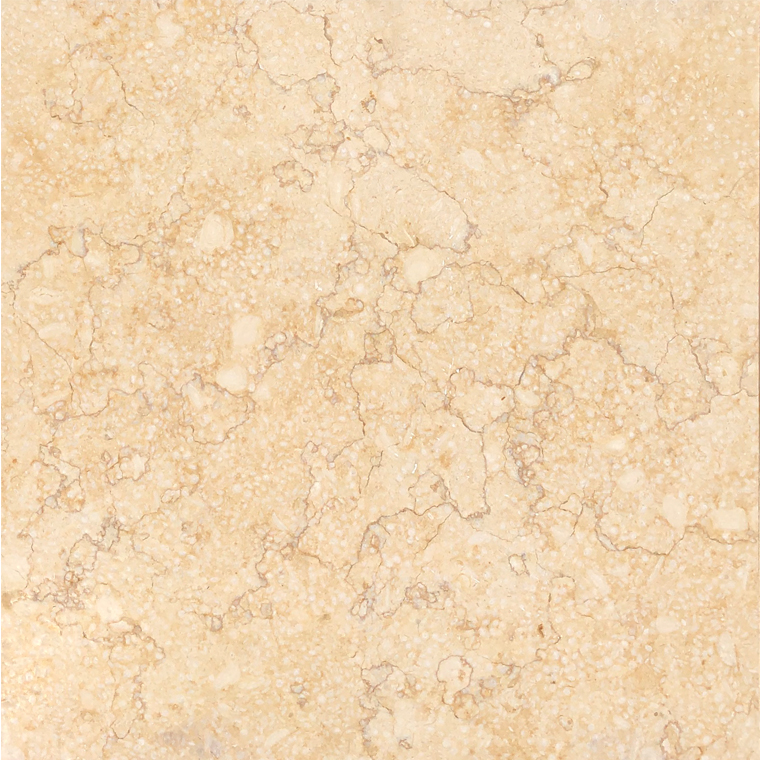 Giallo Sunny Marble Tile 16x16 Brushed