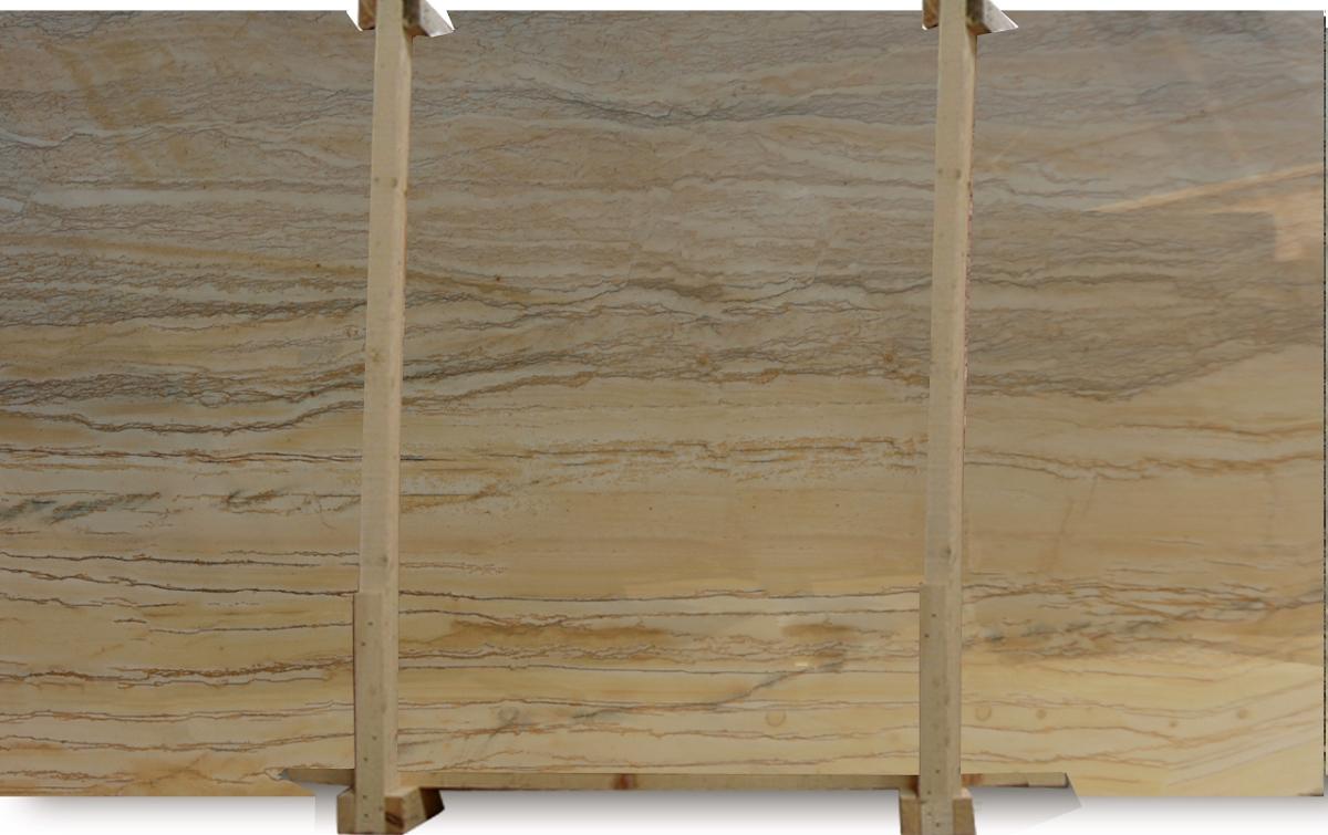 Gold Macauba Quartzite Slab