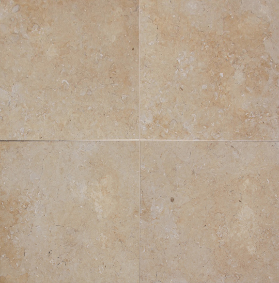 Ramon Gold Limestone Tile 18 Quot X18 Quot Discount Price