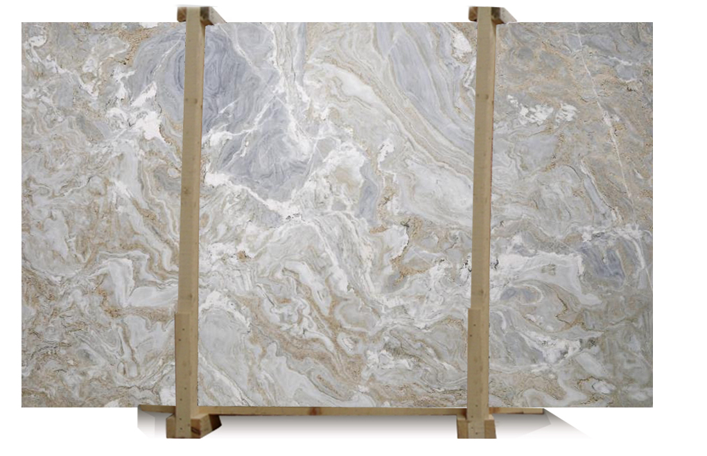 White Avalanche Hard Marble Slab