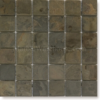 Indian California Gold Slate Mosaic 2