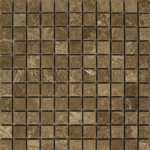 Emperador Light Marble Mosaic 1