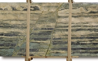 Verde Bamboo Granite Slab