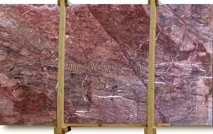 Rosso Passione Marble Slab