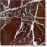 Rosso Levanto Marble Tile 12