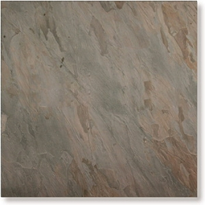 Indian Multi Pink Cleft Slate Tile 12x12