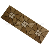 Mix Travertine Mosaic Border Alpaca A2