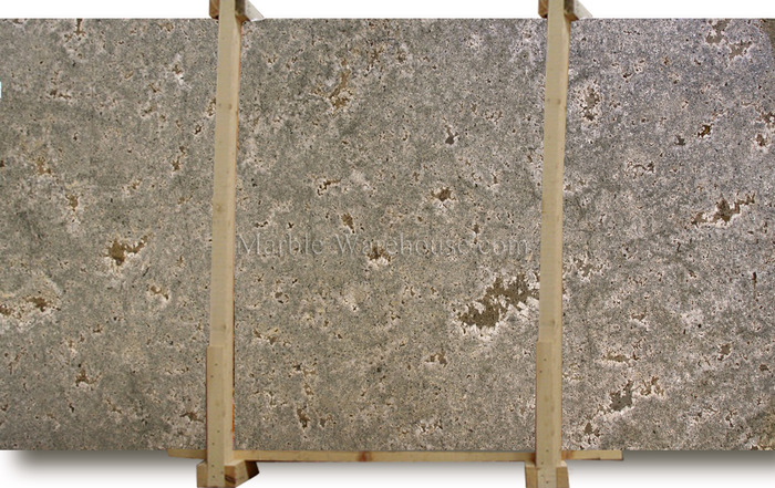 Seafoam Green Brushed Granite Slab
