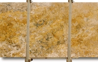 Crema Viejo Travertine Slab