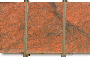 Red Dragon Granite Slab