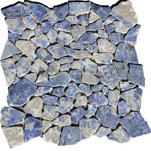Sodalite Blue Pebble Mosaic