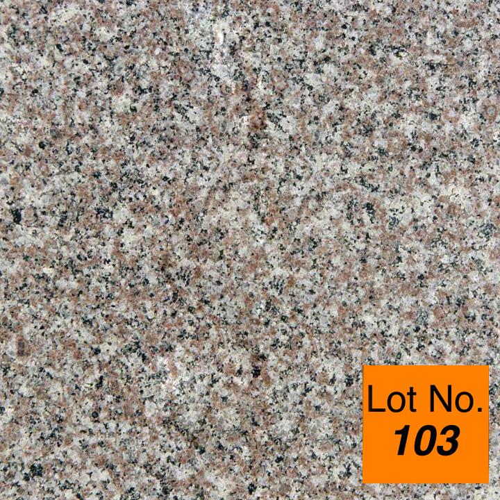 Lot #103: Pallet: Bainbrook Granite Tile 12