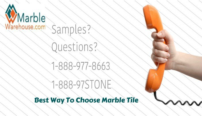 How to choose perfect marble tiles for flooring your new house?