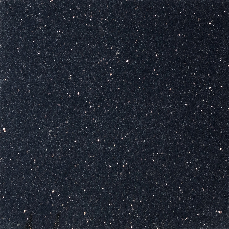 Black Galaxy Premium Granite Tile 18x18