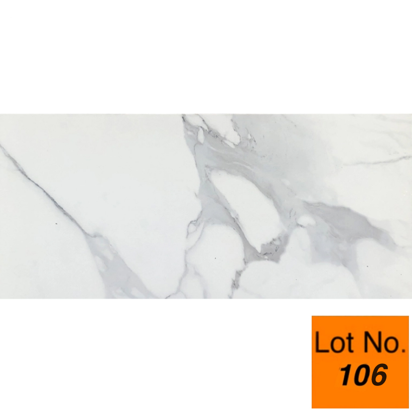 Lot #106 : Statuario Carl Porcelain Tile 12 x 24  - One Pallet 325 sq.ft.