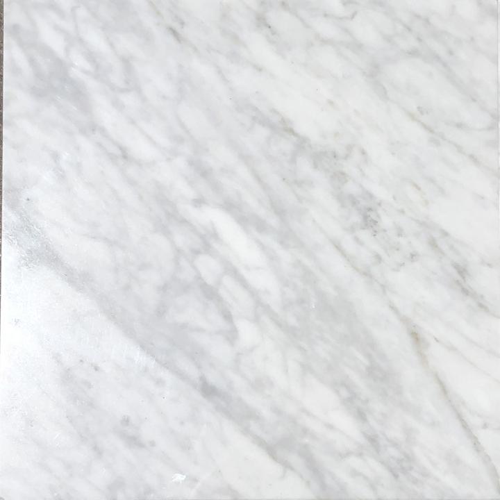 Bianco Carrara Marble Tile 12 X