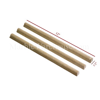 Classico Cream Pencil Liner Travertine 1/2