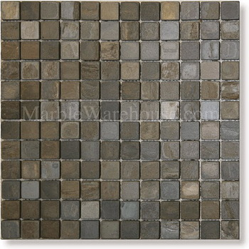 California Gold Slate Mosaic 1