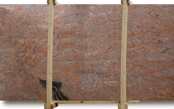 Veronica Red Granite Slab