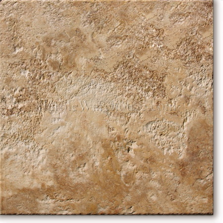 Golden Tumble Brushed Travertine Tile 12