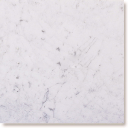 White Carrara Marble Tile 18x18