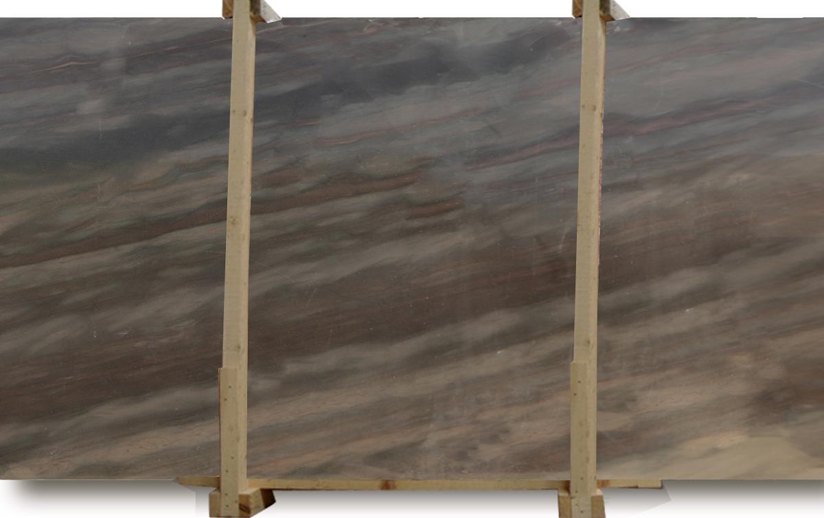 Elegant brown quartzite slab for Elegant stone