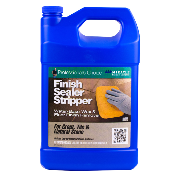 Miracle Sealants Finish Sealer Stripper Water-Base Wax & Floor Finish Remover- Gallon