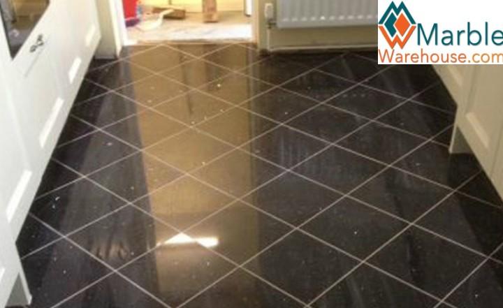 Black Granite Tiles For Kitchen
