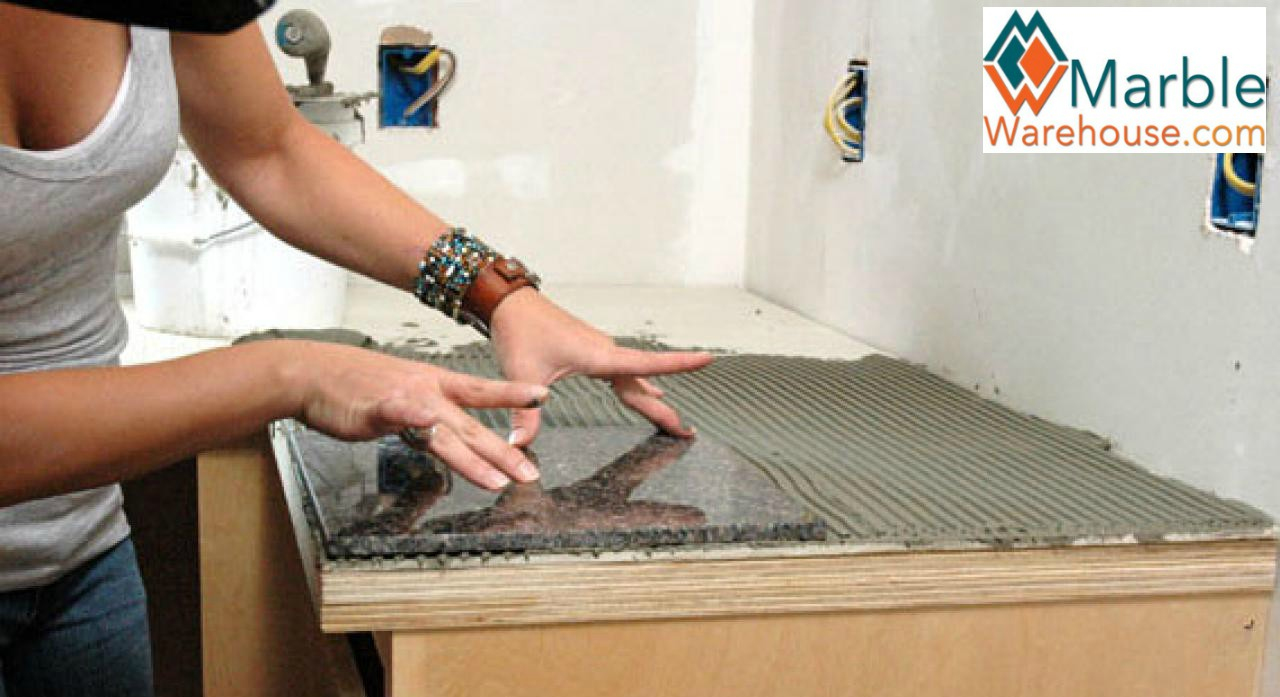 Granite Tile Countertop Installation Without Grout Lines A Knowledge Base