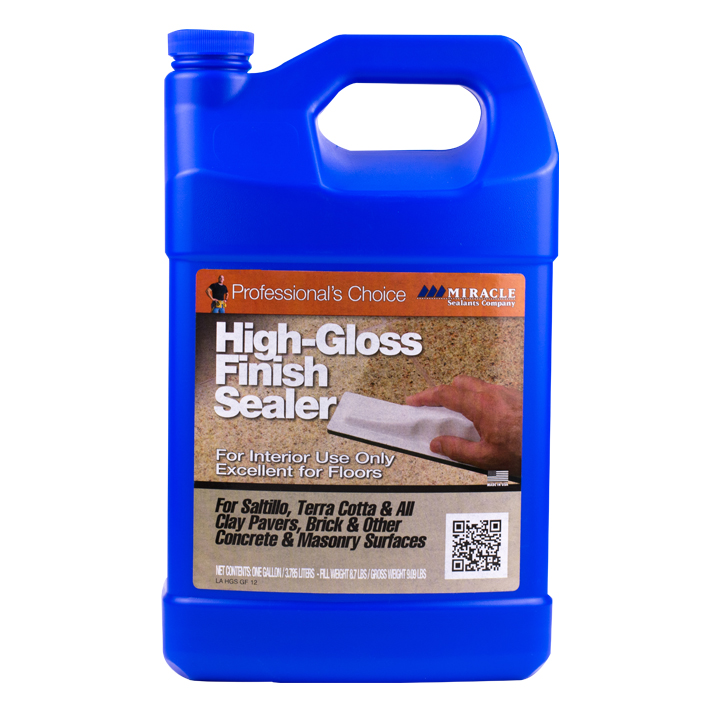 Miracle Sealants High Gloss Finish Sealer Water-Base Enhancer- Gallon