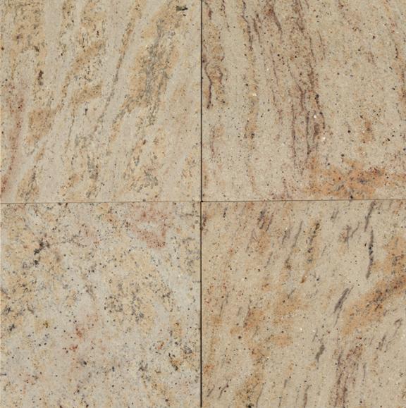 Ivory Brown Granite Tile 12x12