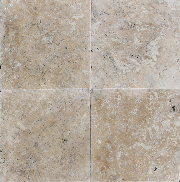 Light Noce Pavers Travertine 12 Quot X12 Quot