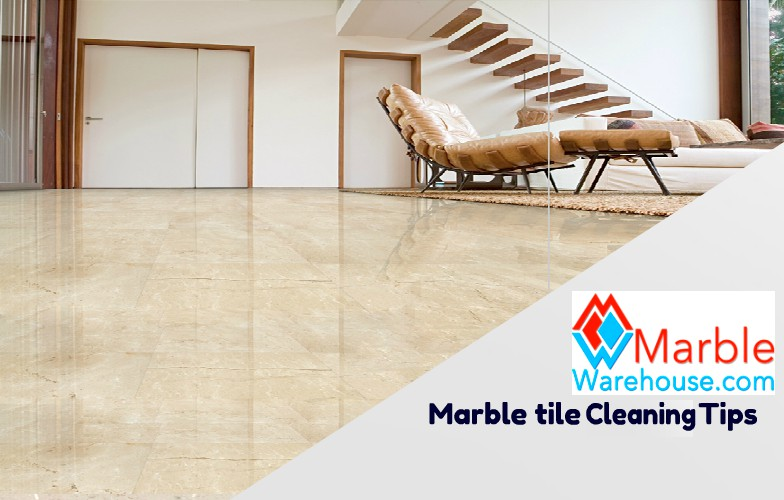 How to clean marble tiles to give natural shine