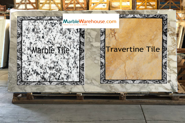 Travertine or Marble Tiles, Which one is Better?