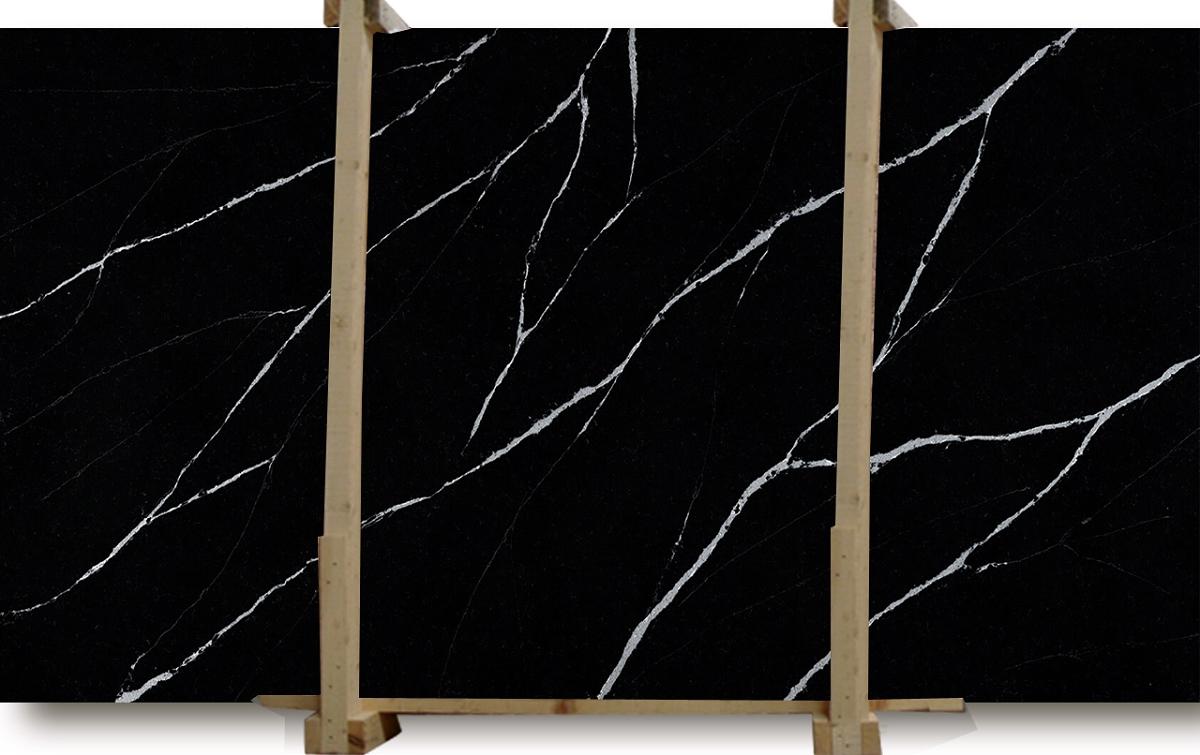 Marquina Series Eternal Quartz Slab