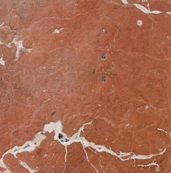 Rojo Alicante Antiqued / Brushed Marble Tile 12