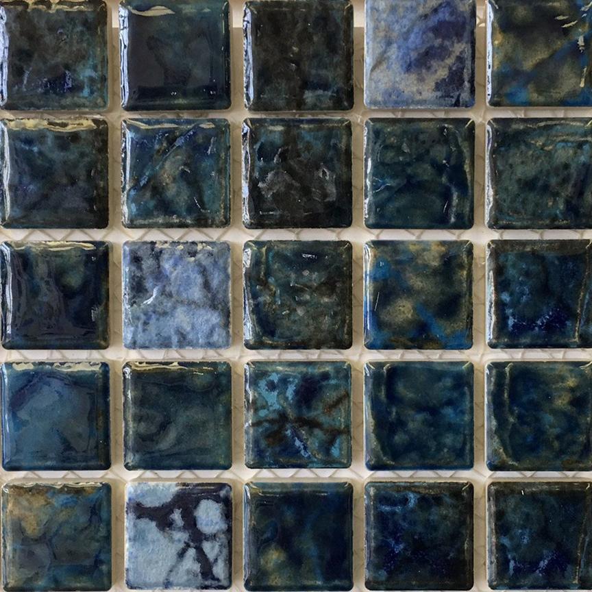 Fujiwa Tile Saga 1 1 8 Quot X 1 1 8 Quot Blue Blend Saga 112
