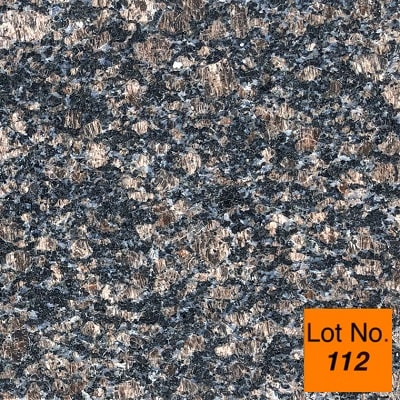 Lot #112: Pallet:   Sapphire Blue Granite Tile 12x12 Tile: 440 Sq/Ft