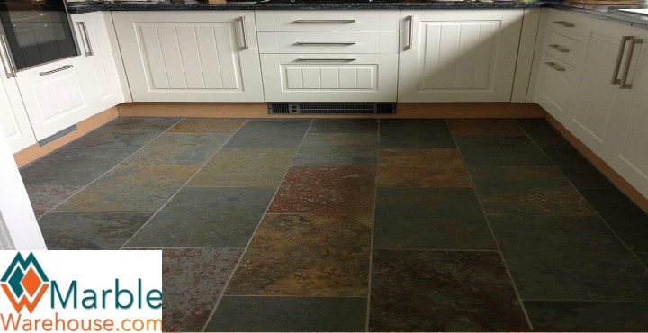 Best Colour choice for Brazilian Slate floor tiles