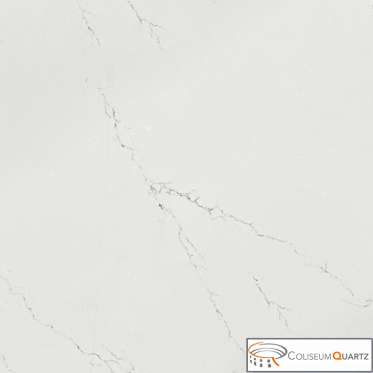 Statuario Gold Vein Quartz Slab